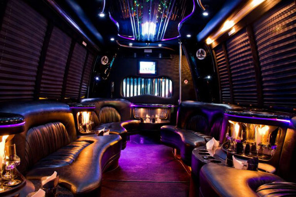 15 Person Party Bus Rental Oklahoma City