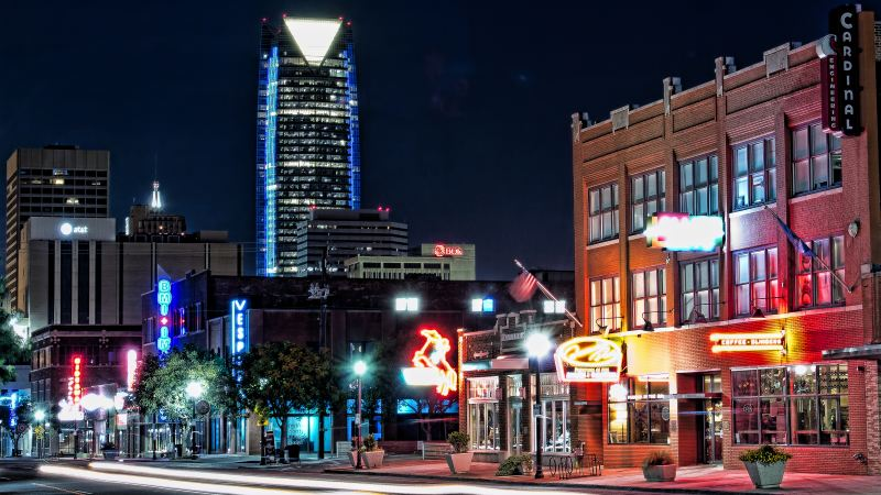 Party Bus Rental Downtown Oklahoma City