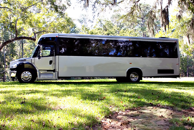 Oklahoma City 40 Person Shuttle Bus